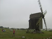 Gettlinge - wooden windmill